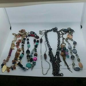 5 piece Long Necklace Bundle 💜